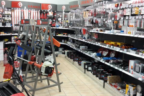 Shop Ansicht des Ladens